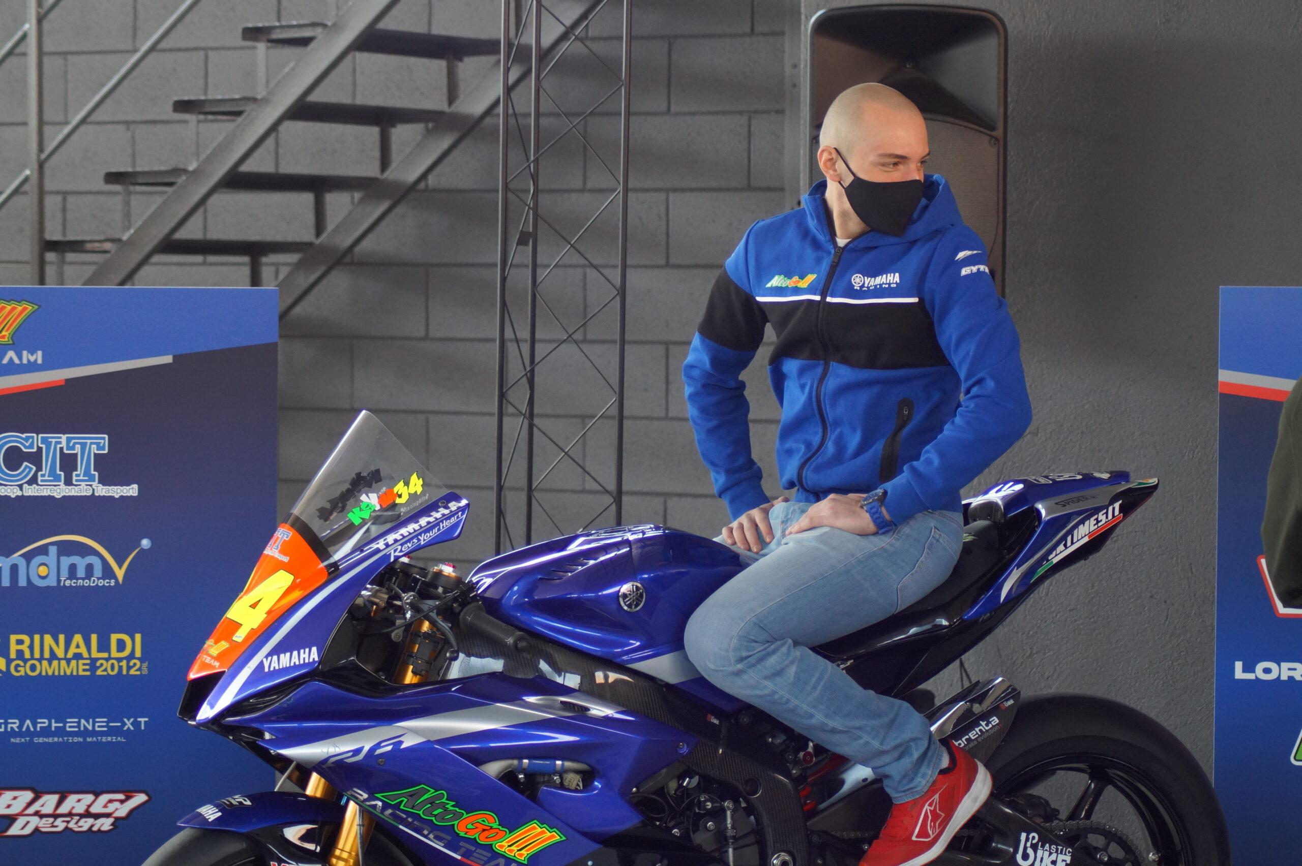Our Rider Lorenzo Gasperini #55