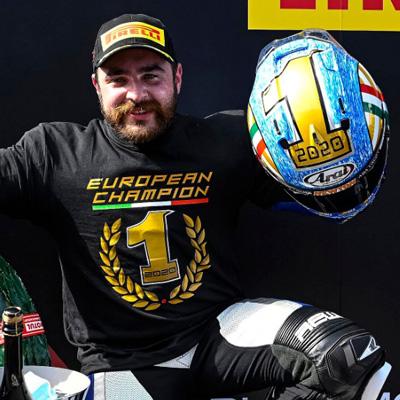 Kevin Manfredi #34 Campione Europeo