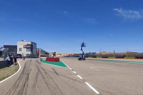 Sul circuito Pirelli Aragón