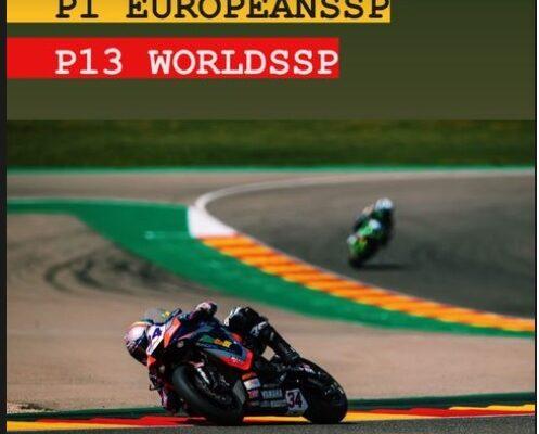Ad Aragón per difendere il WorldSSP Challenge FP1 e FP2
