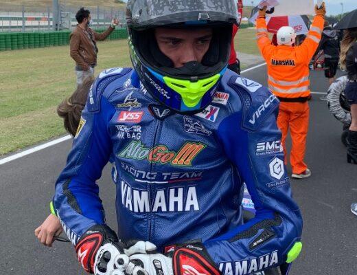 Lorenzo Gasperini a Misano per il Campionato Italiano Velocità